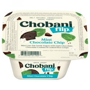 Chobani Flip Mint Choclate Chip Yogurt