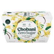 Chobani Zero Sugar Nonfat Yogurt Vanilla