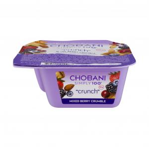 Chobani Simply 100 Mixed Berry Crumble Crunch