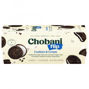 Chobani Flip Cookies & Cream Greek Yogurt