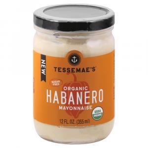 Tessemae's Organic Sugar Free Habanero Mayonnaise