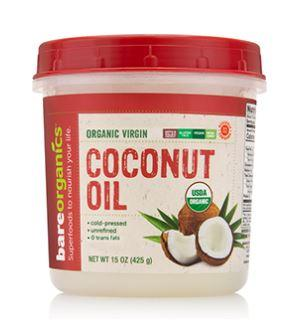 Bare Organics Coconut Oil