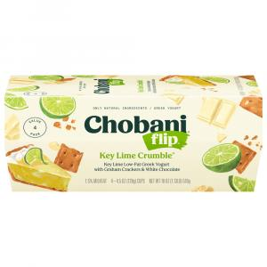 Chobani Flip Key Lime Crumble Greek Yogurt