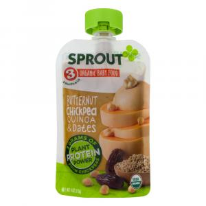 Sprout Stage 3 Organic Baby Food Butternut Chickpea Quinoa &