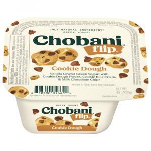 Chobani Flip Cookie Dough Greek Yogurt
