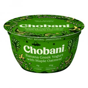 Chobani Banana Greek Yogurt with Maple Oatmeal