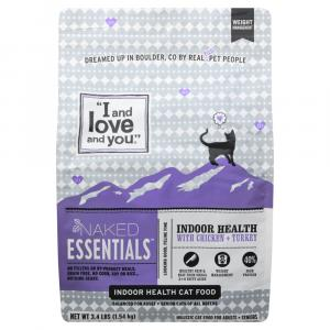 """""""I and Love and You"""" Naked Essentials Indoor Health Cat Food"""