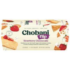 Chobani Flip Strawberry Cheesecake Yogurt