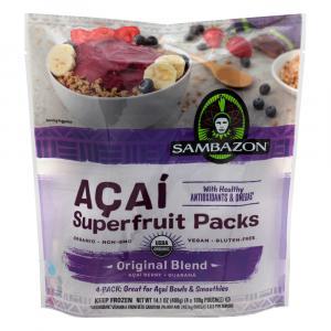 Sambazon Acai Superfruit Original Blend Packs