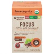 Bare Organics Focus Coffee With Superfoods Medium Roast