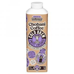 Chobani Cold Brew Coffee Sweet Cream