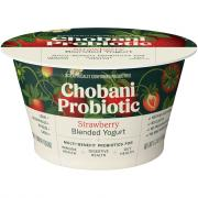 Chobani Probiotic Strawberry Blended Yogurt