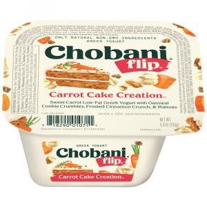 Chobani Flip Carrot Cake Creation Greek Yogurt