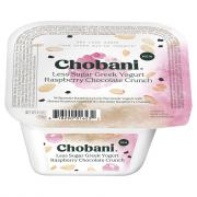 Chobani Less Sugar Greek Yogurt Raspberry Chocolate Crunch