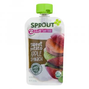 Sprout Stage 2 Organic Baby Food Sweet Potato Apple Spinach