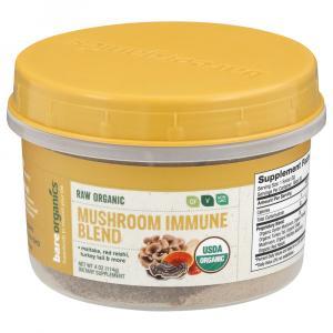 Bare Organics Raw Mushroom Immune Blend