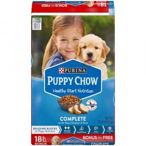 Purina Puppy Chow Complete Balanced Dry Dog Food Bonus