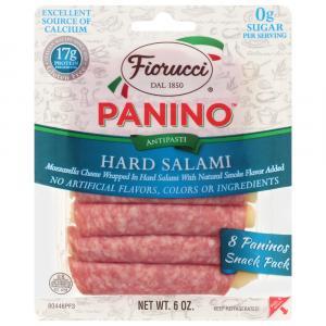 Fiorucci Hard Salami Panino