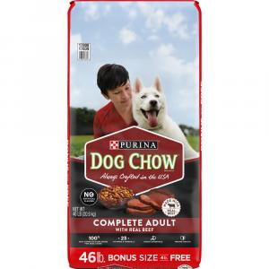 Dog Chow Complete Adult Dog Food All Beef