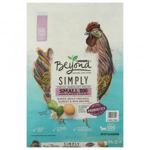 Beyond Small Dog Blend Chicken Barley And Egg