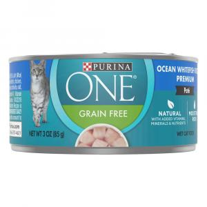 Purina ONE Smartblend Premium Pate Ocean White Fish