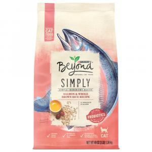 Beyond Dry Cat Salmon And Whole Grain Rice