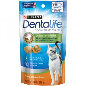 Purina Dentalife Chicken Flavored Cat Treats