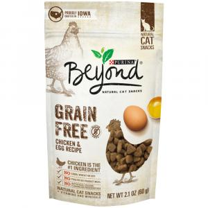 Beyond Grain Free White Meat Chicken & Egg Cat Snacks