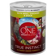 Purina One Smartblend True Instinct Chicken & Duck in Gravy