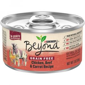Beyond Grain Free Chicken, Beef and Carrot in Gravy