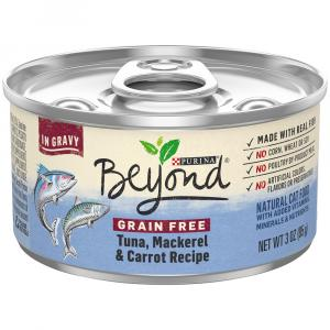 Beyond Grain Free Tuna, Mackeral and Carrot in Gravy