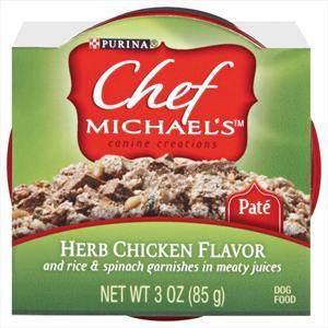 Chef Michael's Herb Chicken Can Dog Food