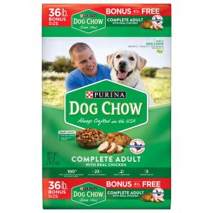 Purina Dog Chow Complete Chicken Dry Dog Food Bonus