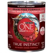 Purina One Smartblend Grain-Free True Instinct Beef & Salmon