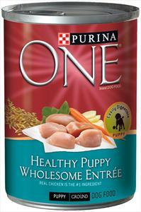 Purina One Healthy Puppy Can Dog Food