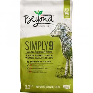 Purina Beyond Simply 9 Ranch Raised Lamb And Whole Barley