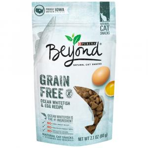 Beyond Grain Free Ocean Whitefish & Egg Cat Treat