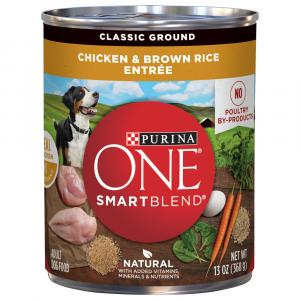 Purina ONE Chicken & Brown Rice Can Dog Food