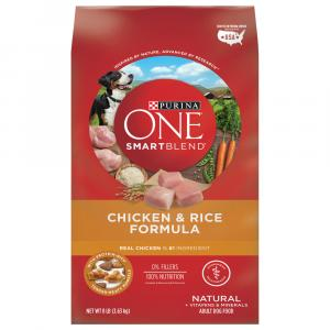 Purina One Adult Dog Chicken & Rice Dry Dog Food