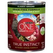 Purina One Smartblend True Instincts Chicken & Duck in Gravy