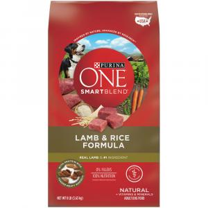 Purina One Lamb & Rice Dry Dog Food