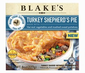 Blake's Turkey Meat Pie