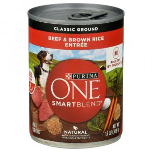 Purina ONE Beef & Brown Rice Can Dog Food