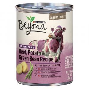 Beyond Grain Free Beef, Potato and Green Bean