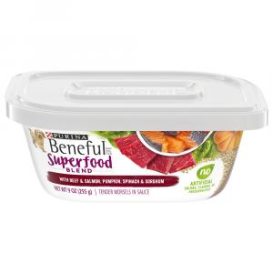Purina Beneful Superfood Blend with Beef & Salmon