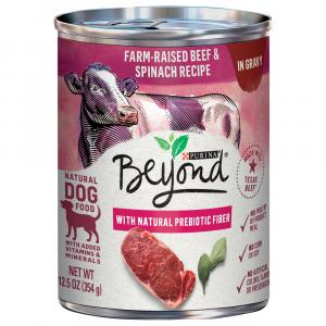 Beyond Grain Free Beef & Spinach In Gravy Dog Food