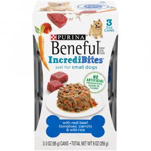 Beneful Chopped Blend Beef, Tomatoes, Carrots & Wild Rice