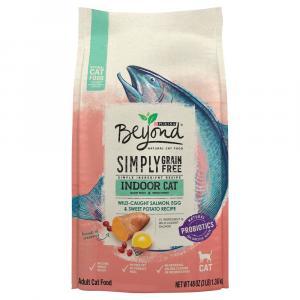 Beyond Indoor Grain Free Salmon, Egg & Sweet Potato Recipe