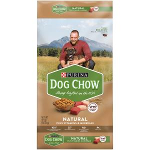 Purina Dog Chow Natural Chicken