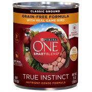 Purina One Smartblend Grain-Free True Instinct Dog Food